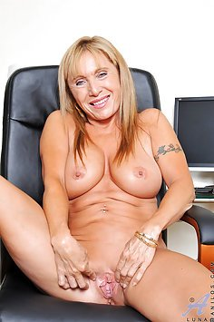 Luna Azul Naughty At the Office